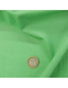 Velours petites côtes couleur vert-clair