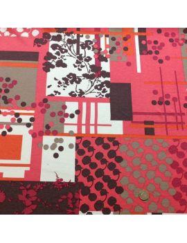 Jersey patch printemps rose