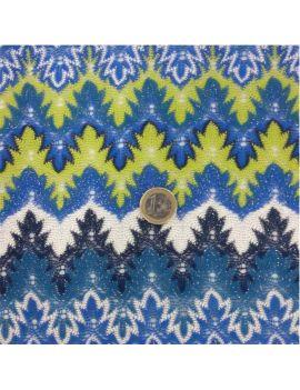 tricot laponie bleu lurex