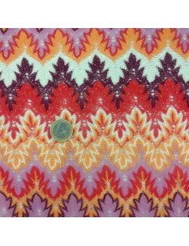 tricot laponie rouge lurex
