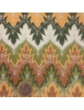 tricot laponie vert lurex