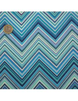 viscose aztec bleu