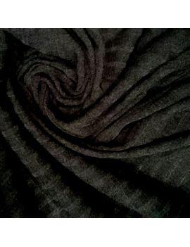 Jersey grosse côte noir