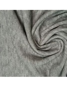 Jersey effet angora gris