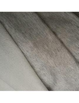 Molleton lourd gris clair