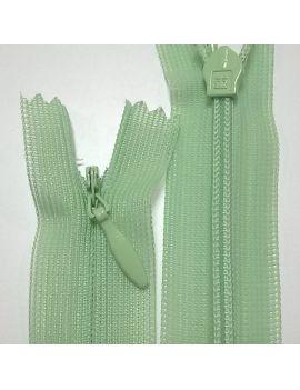 ZIP invisible 22cm vert clair