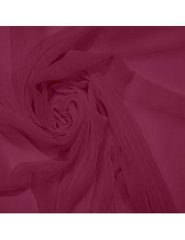 Voile polyester fushia
