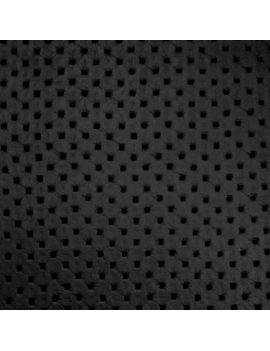 Simili cuir capitonné noir