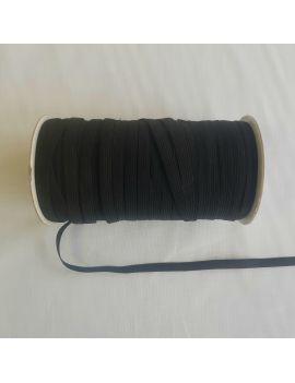 Élastique gomme noir 1cm