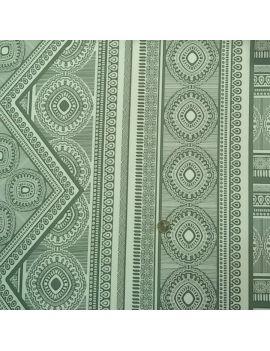 Jersey crêpe foulard vert