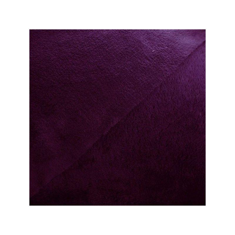 teddy prune fonc double face tissu et mercerie madras coton jersey jeans fils. Black Bedroom Furniture Sets. Home Design Ideas