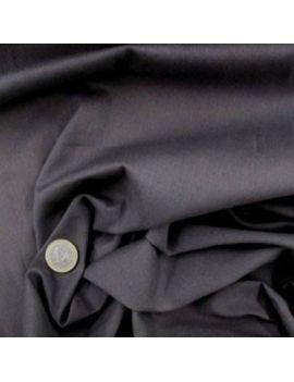 Voile de coton gris foncé