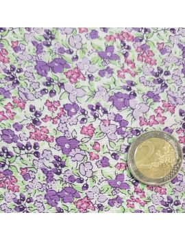 liberty fleurs moyens violet
