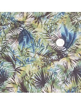 Viscose jungle verte