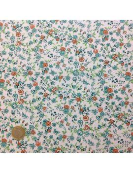 Liberty fleurs et papillons moyen vert