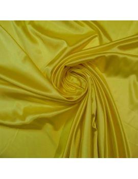 Satin jaune