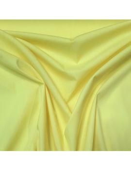 Popeline coton jaune