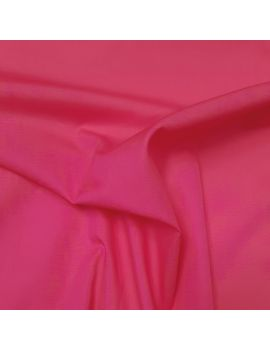 Popeline coton fushia