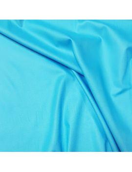 Popeline 100% coton turquoise