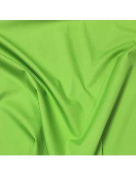 Popeline coton vert pomme