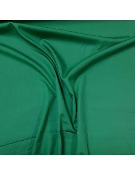 Popeline coton vert jardin