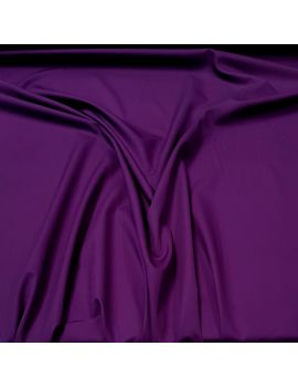 Popeline coton violet