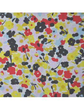jersey coton léger  fleurette d'été bis