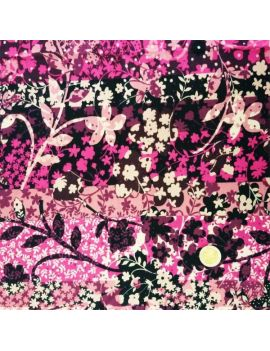 voile de coton psyché rose