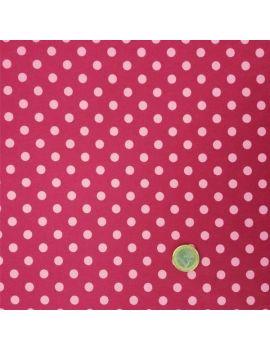 pois moyen fushia fonçé/rose