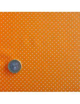 pois tête d'épingle orange