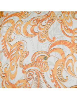 voile polyester orangeade
