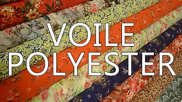 Voile_poly - tissu pas cher